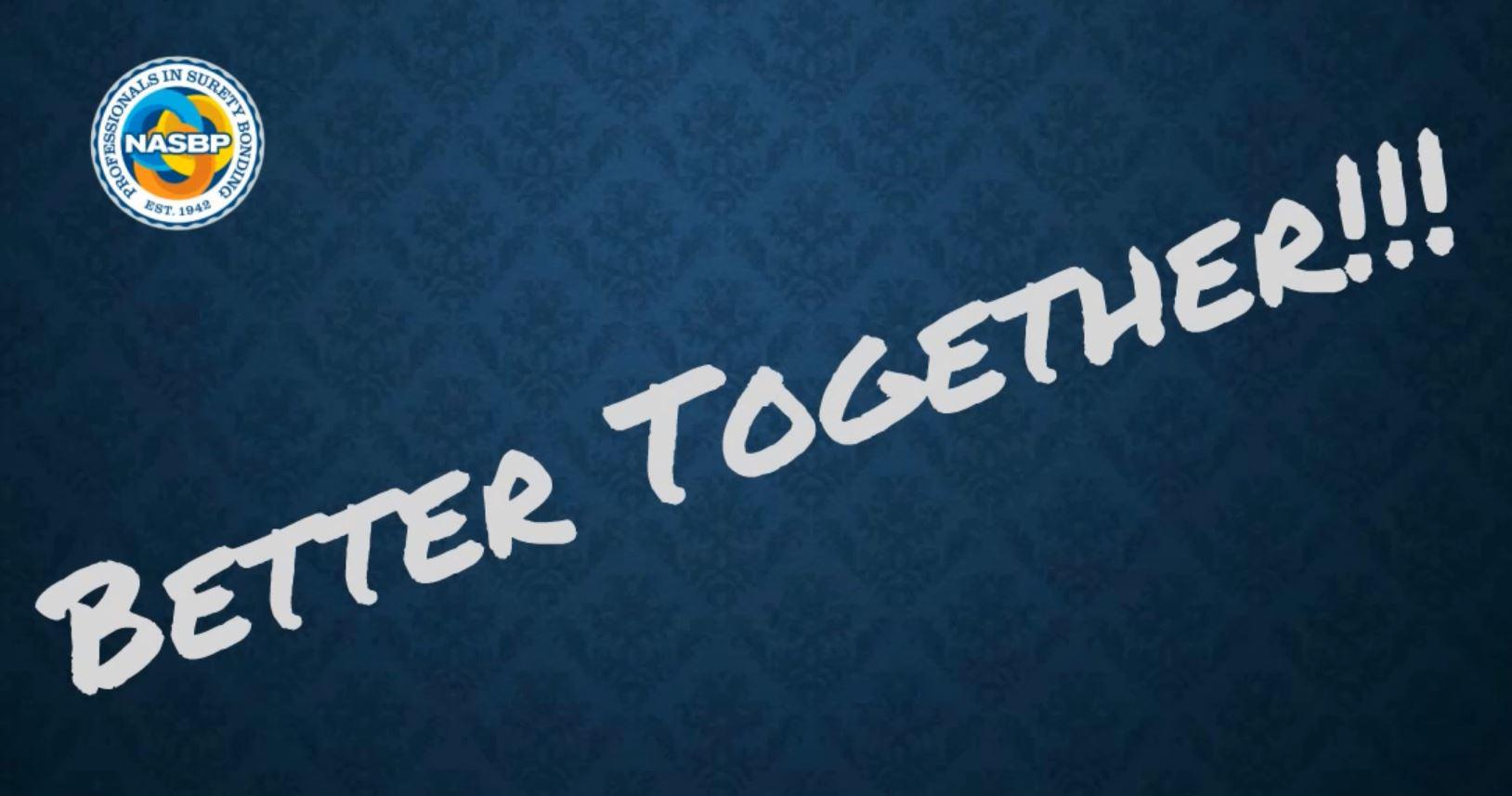 Better Together!!!